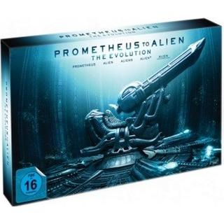 Alien & Prometheus evolution: Limited coll. (Blu-Ray 1979-2012)