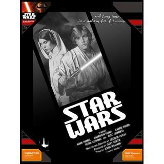 Star Wars Luke Skywalker and Princess Leia Poster