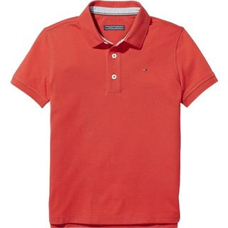 Tommy Hilfiger Boy's Classic Short Sleeve Polo Shirt - Apple Red (KB0KB03975600)