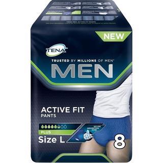 TENA Men Active Fit Pants L 8-pack