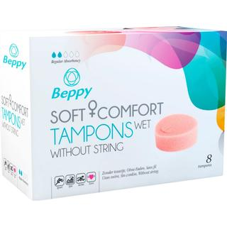 Beppy Soft + Comfort Tampons Wet without String 8-pack