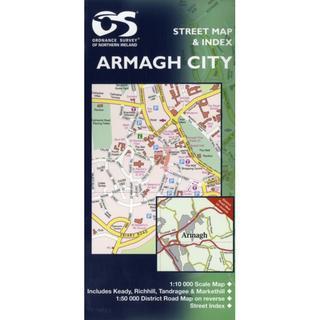 Armagh City (Street Maps) (Irish Street Maps)