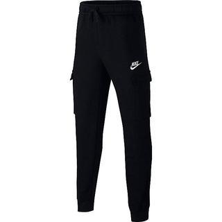 Nike Boy's Sportswear Club Cargo Trousers - Black/Black/White (CQ4298-010)