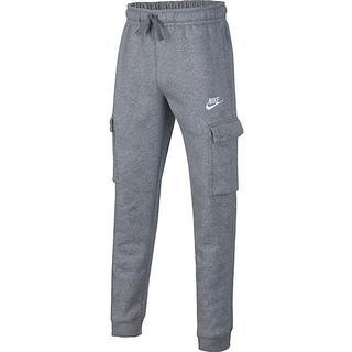 Nike Boy's Sportswear Club Cargo Trousers - Charcoal Heathr/Anthracite/White (CQ4298-071)