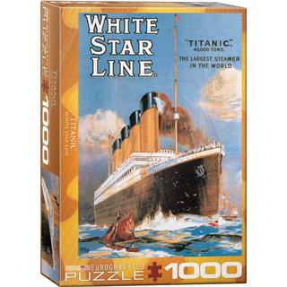 Eurographics Titanic White Star Line 1000 Pieces