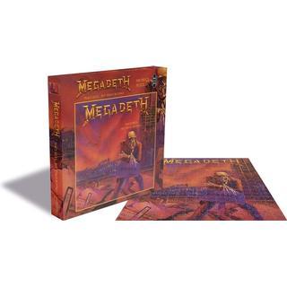 Megadeth Peace Sells 500 Pieces