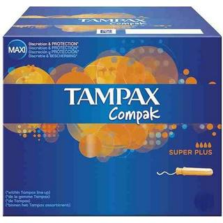 Tampax Compak Super Plus 22-pack