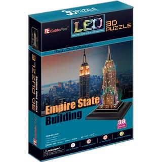 CubicFun Empire State Building New York USA 38 Pieces