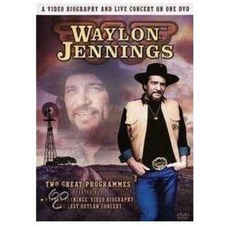 Waylon Jennings A Video Biography and Live Concert on One DVD