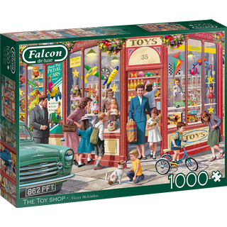 Jumbo The Toy Shop 1000 Pieces