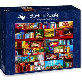 Bluebird The Library the Travel Section 1000 Pieces