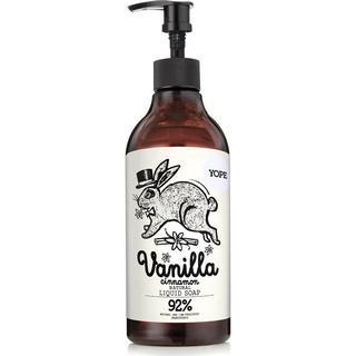 Yope Vanilla & Cinnamon Natural Moisturising Liquid Soap 500ml