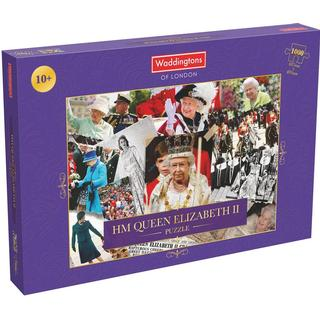 Waddingtons HM Queen Elizabeth II Montage 1000 Pieces