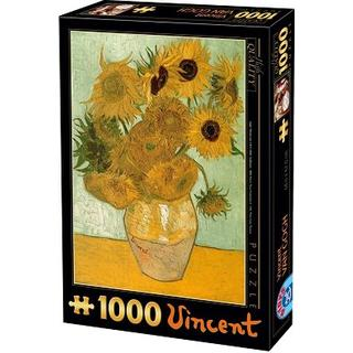 Dtoys Van Gogh Sunflowers 1000 Pieces