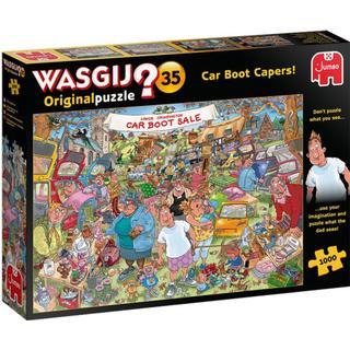 Jumbo Wasgij Original 35 Car Boot Capers 1000 Pieces