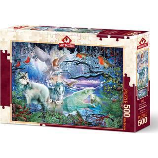 Glacier Forest 500 Pieces