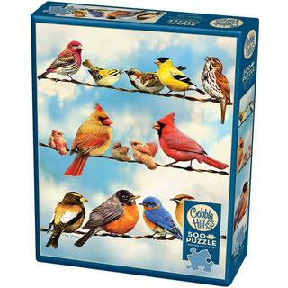 Cobblehill Birds on a Wire 500 Pieces