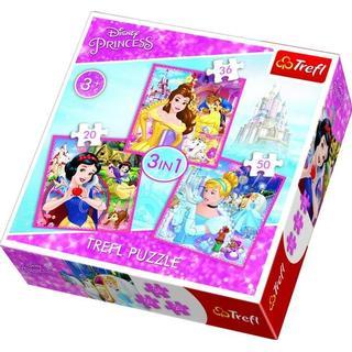 Trefl Disney Princess 20x36x50 Pieces