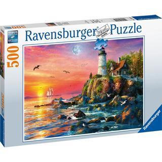 Ravensburger Lighthouse at Sunset 500 Pieces