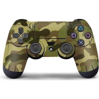 Slowmoose PS4 Controller Vinyl Skin - Grey Camouflage