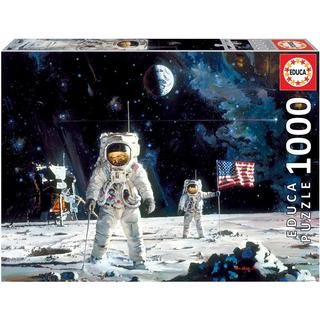 Educa First Men on the Moon Robert McCall 1000 Pieces