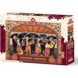 ART Flamenco Meow Team 500 Pieces