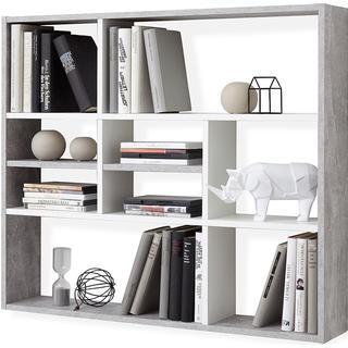 FMD 428758 90cm Wall Shelf