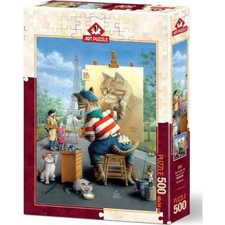 ART Painter Cat 500 Pieces