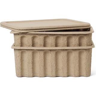 Ferm Living Paper Pulp 30cm 2-pack Storage box