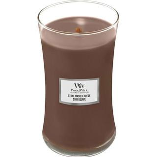 Woodwick Stone Washed Suede Large Scented Candles