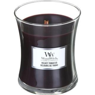 Woodwick Velvet Tobacco Medium Scented Candles