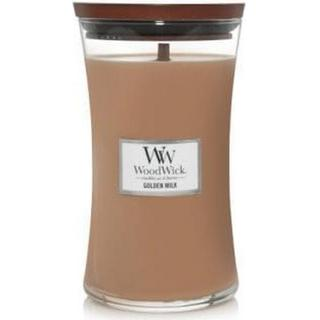 Woodwick Golden Milk Large Scented Candles