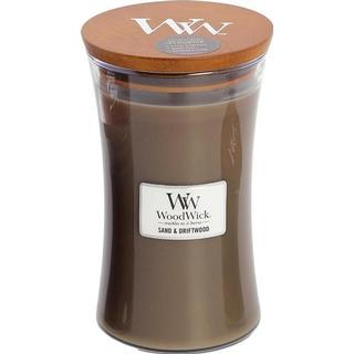 Woodwick Sand & Driftwood Large Scented Candles