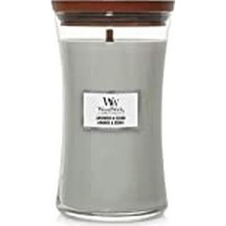 Woodwick Lavender & Cedar Large Scented Candles
