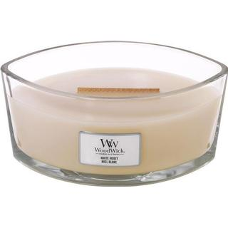 Woodwick White Honey Ellipse Scented Candles