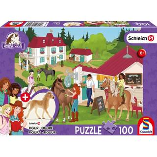 Schmidt Spiele At The Horse Stables 100 Pieces