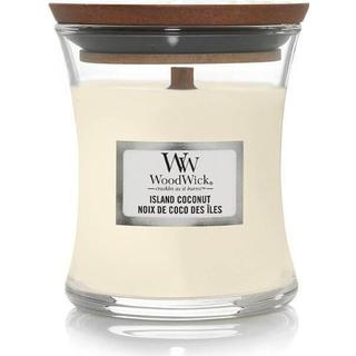 Woodwick Island Coconut Small Scented Candles
