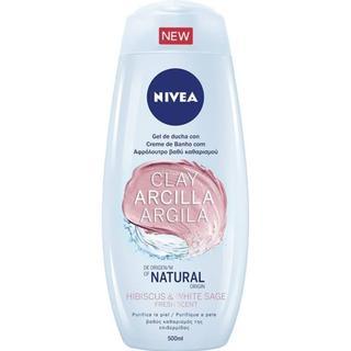 Nivea Fresh Hibiscus & White Sage Shower Clay 500ml