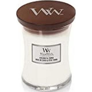 Woodwick Coconut & Tonka Medium Scented Candles