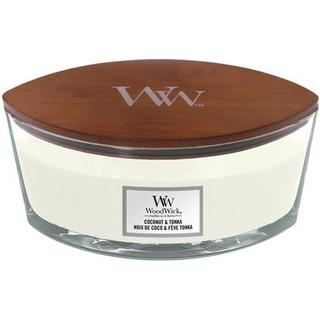 Woodwick Coconut & Tonka Ellipse Scented Candles