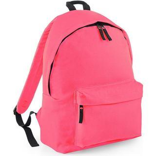 BagBase Original Fashion Backpack - Fluorescent Pink