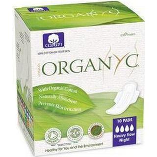 Organyc Night Heavy Flow 10-pack