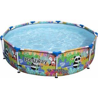 Bestway Steel Pro Paradise Frame Pool Ø2.74x0.66m