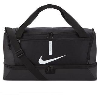 Nike Academy Team Hardcase Football Duffel Bag Medium - Black/Black/White
