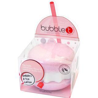 Bubble T Summer Fruits Bubbles & Tea Big Bath Macaron Fizzer 180g