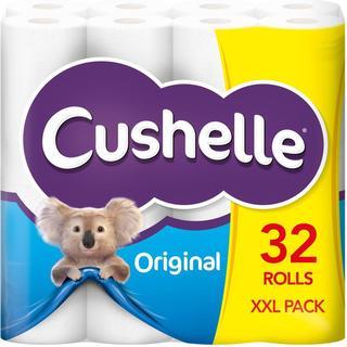 Cushelle Original 2-Ply Toilet Paper 32-pack