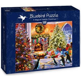 Bluebird A Magical View to Christmas 1000 Pieces