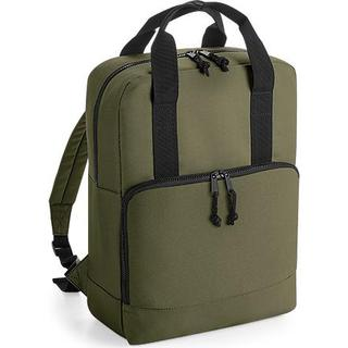 BagBase BG287 Recycled Twin Handle Cooler Backpack - Military Green
