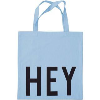 Design Letters Favorite Tote Bag Hey - Blue
