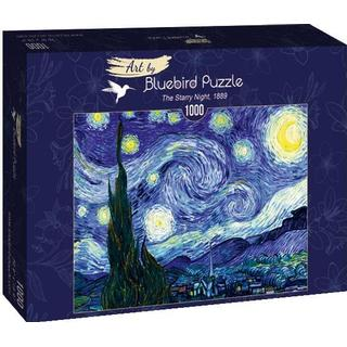 Bluebird The Starry Night 1889 1000 Pieces